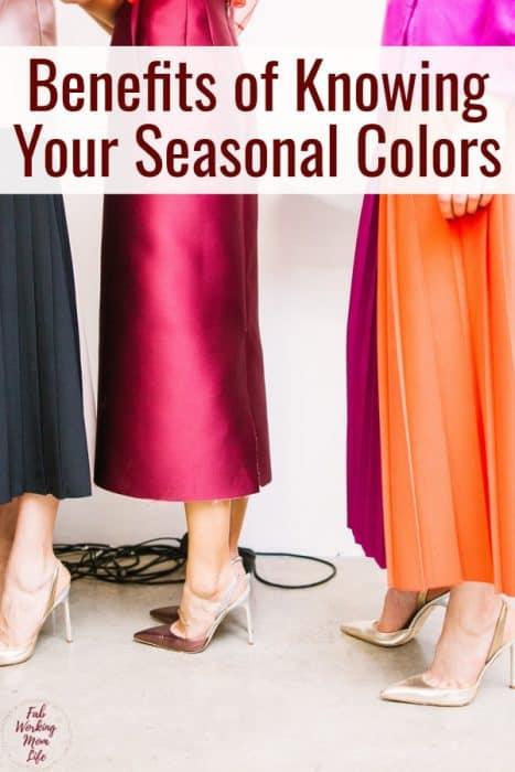 Benefits of Knowing Your Seasonal Colors   Fab Working Mom Life #momfashion #fashion #workingmom