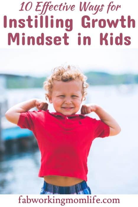 instilling growth mindset in kids