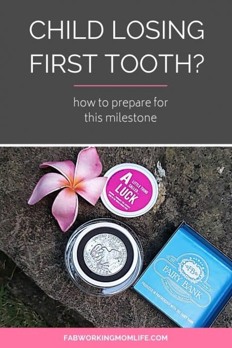 prepare for child losing first tooth