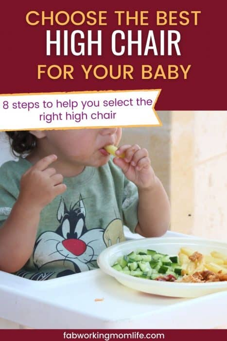 choose the best high chair for your baby