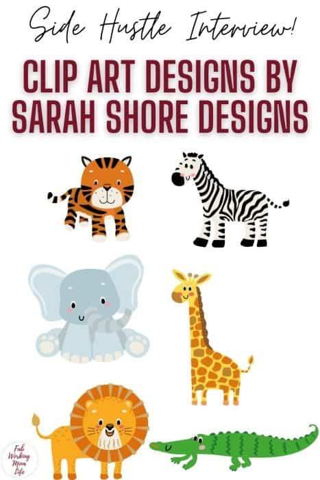 side hustle interview Sarah Shore Designs
