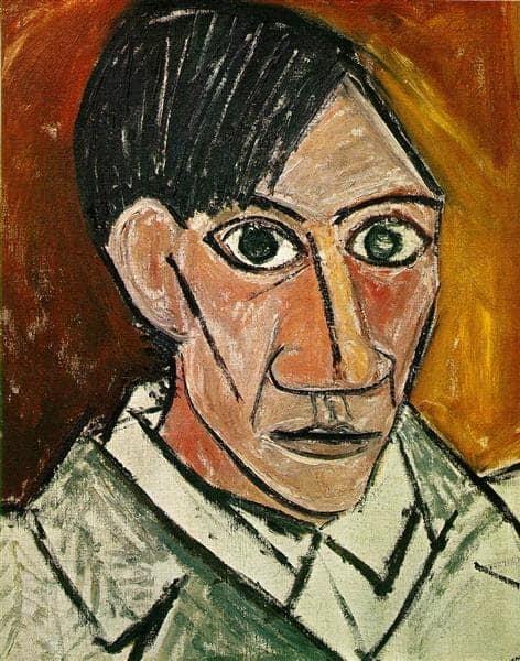 Pablo Picasso - Self-Portrait - 1907