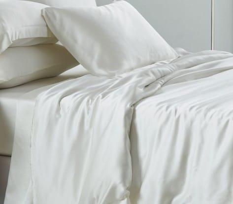 mulberry silk sheets, silk sheet set