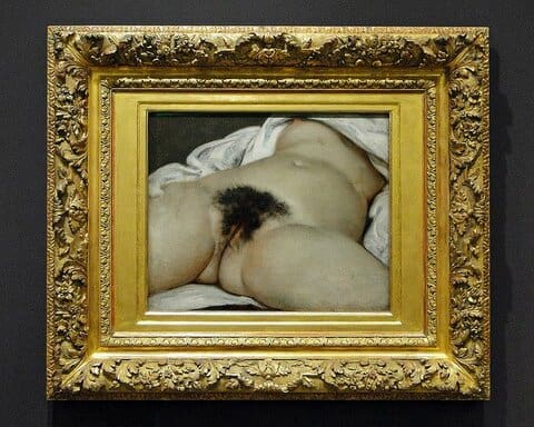 Origin of the World – Gustave Courbet, 1866