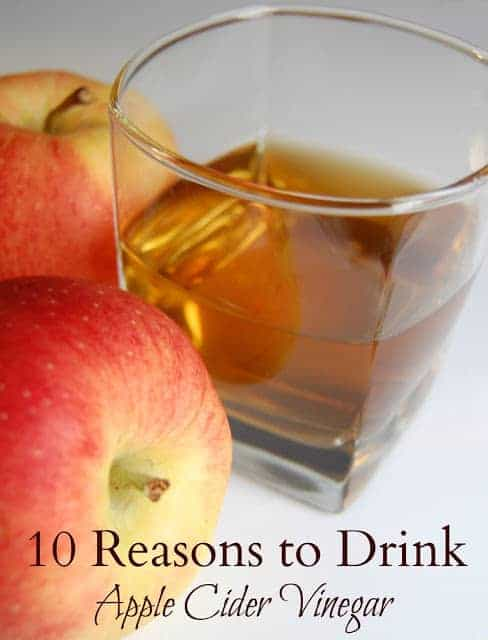 There are so many reasons to drink apple cider vinegar that it's definitely a drink you should consider adding to your diet. #applecidervinegar #acv #health #naturalhealth