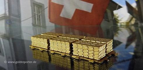 Gold, Schweiz, Goldmarkt (Foto: Goldreporter)