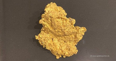 Gold, Nugget (Foto: Goldreporter)
