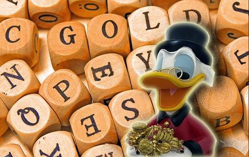 Gold, Dagobert Duck, Zitat (Foto: Goldreporter)
