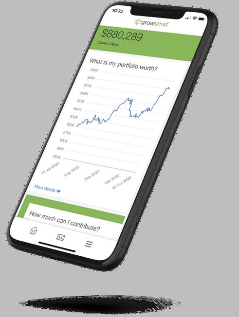 SMSF Gold Coast - view your SMSF portfolio via our app