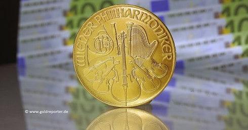 Goldpreis, Goldmünze, Philharmoniker