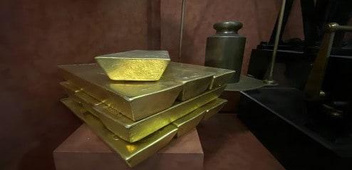 Gold, Goldbarren, COMEX (Foto: Goldreporter).
