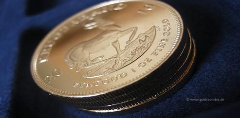Krügerrand, Goldmünzen, Preis (Foto: Goldreporter)