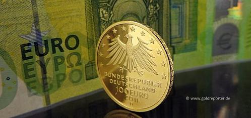 Gold, Goldpreis, Goldmünze (Foto: Goldreporter)