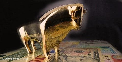 Gold. Goldpreis, Bulle (Foto: Goldreporter)