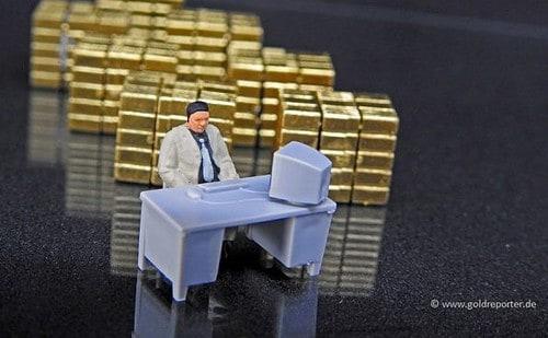 Gold, Futures, Banken (Foto: Goldreporter)