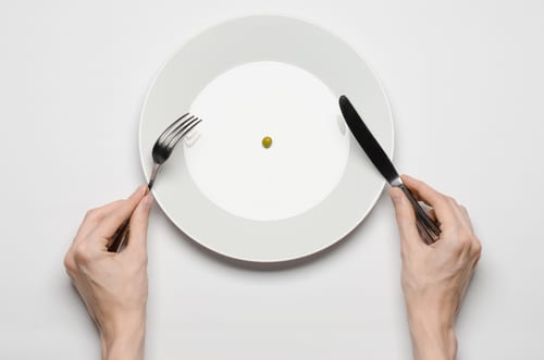 Hunger while dieting