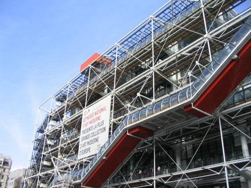 Centre Pompidou, Paris. Contemporary Art.