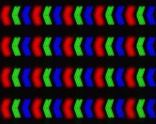 Matriz pixel panel IPS
