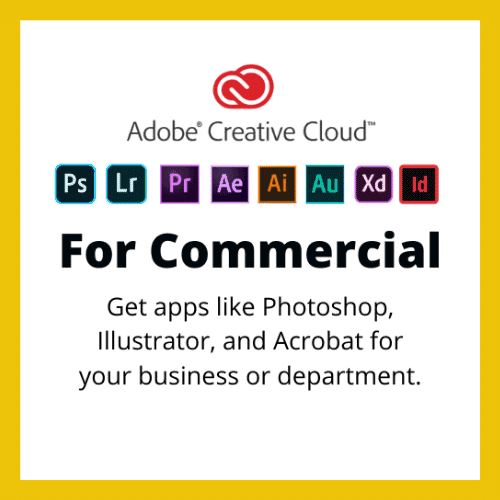 Adobe Creative Cloud for Business Subscription Canada