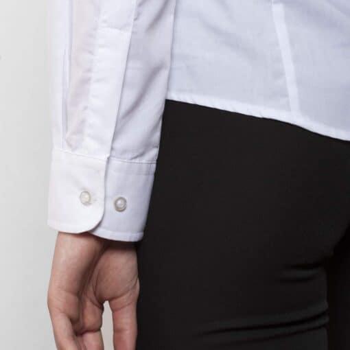 Camisa manga comprida Senhora Branca punhos
