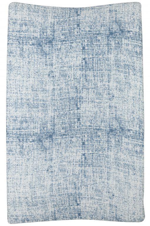Meyco Fine lines hydrofiele aankleedkussenhoes jeans