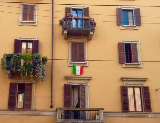 Städtereise Mailand Italien Fassaden