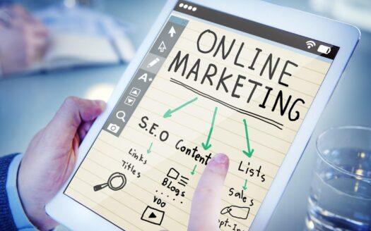Marketing online.