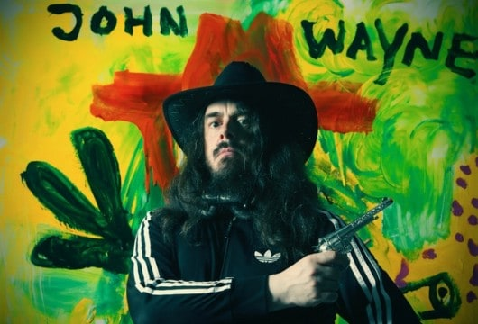 German painter Jonathan Meese. Photo courtesy of David Nolan Gallery and the artist.