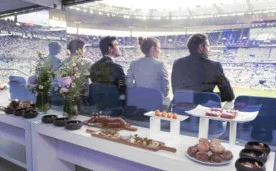 Les évènements sportifs sont l'occasion de belles rencontres inatendues