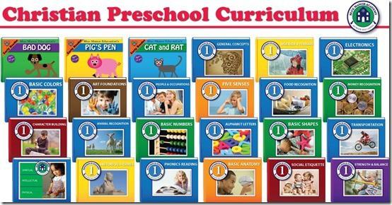 Blue Manor Christian Preschool Curriculum
