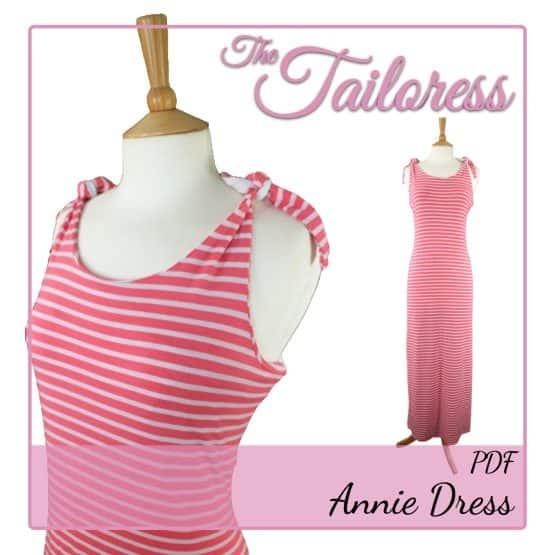 The Tailoress PDF Sewing Patterns - Annie Dress PDF Sewing Pattern