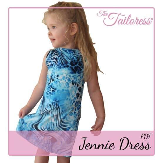 The Tailoress PDF Sewing Patterns - Jennie Dress PDF Sewing Pattern