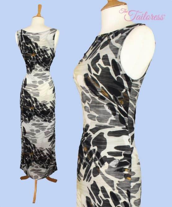 The Tailoress PDF Sewing Patterns - Jennifer Dress PDF Sewing Pattern sizes 4-18