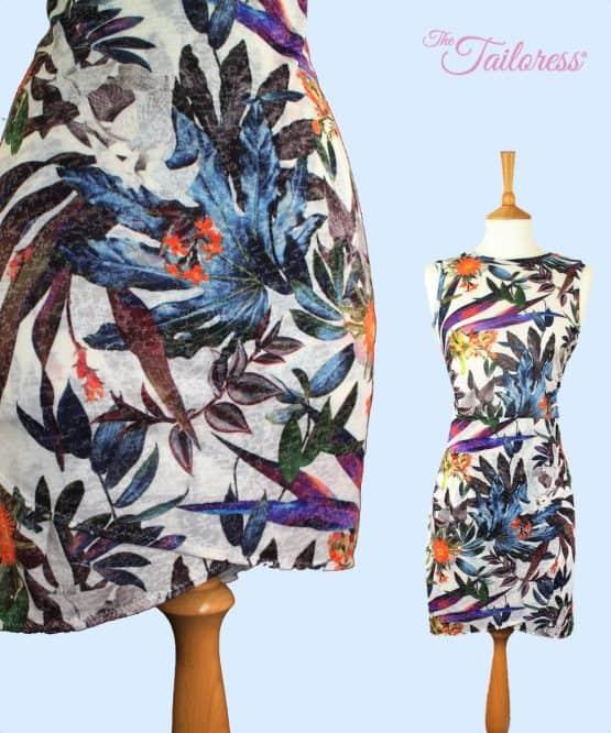 The Tailoress PDF Sewing Patterns - Agatha Layered Wrap Dress PDF Sewing Pattern