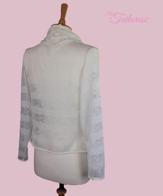 The Tailoress PDF Sewing Patterns - Lily Waterfall Cardigan PDF Sewing Pattern