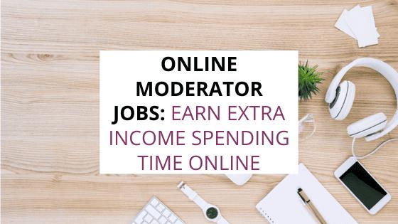 online moderator jobs