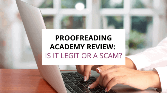 proofreading academy review