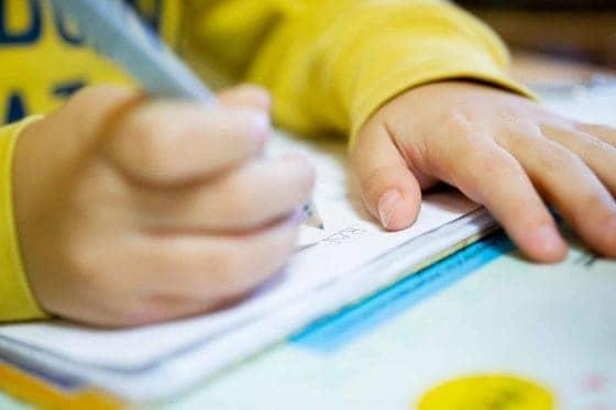 Schreibtest im Rahmen der Funktionaloptometrie