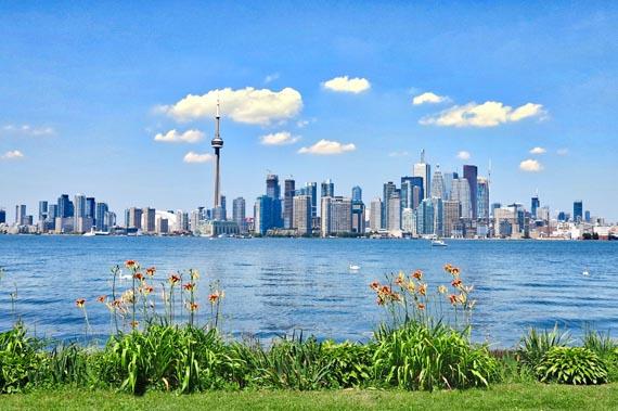 Вид на даун-таун Торонто © CanadaVisa.in.ua