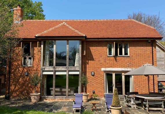red brick house in wiltshire