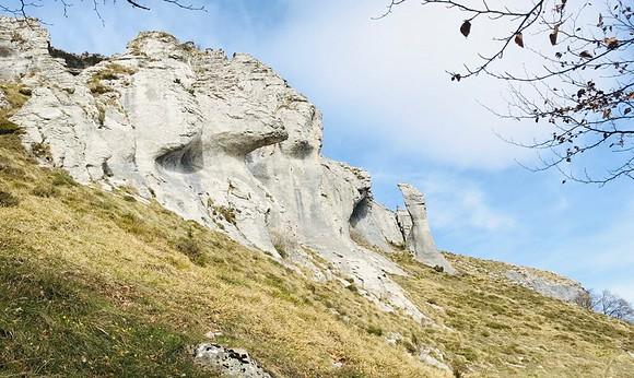 Peñalba desde el Valle de Mena