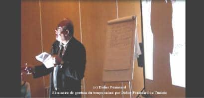 Didier penissard formateur et coach en gestion du temps. Reconnu pour être un spécialiste de la gestion optimale du temps; des milliers de personnes gagnent des centaines d'heures par an avec un système étonnant.