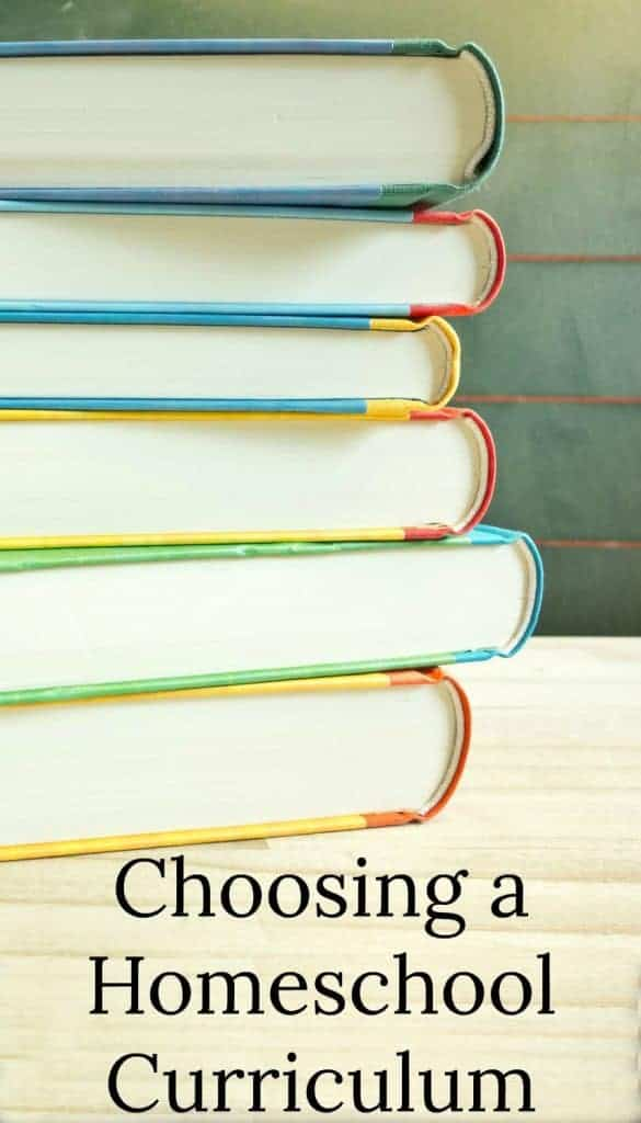 Confused about choosing a homeschool curriculum? This post helps walk you through the deciding factors and gives some great resources. #homeschooling #homeschool #curriculum