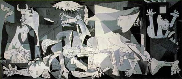Pablo Picasso's Guernica, 1937