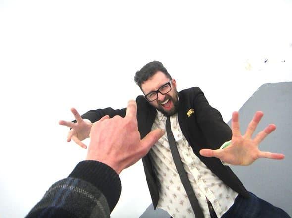 Dan Watson in a jacket (photo: Brian Archer)