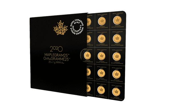 Maplegram, Goldmünzen