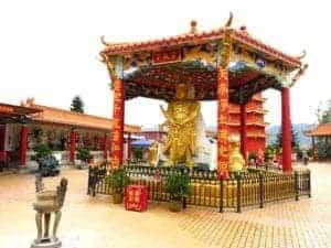 Ten Thousand Buddha in Sha Tin