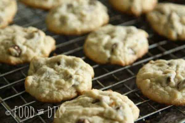 Classic Chocolate Chip Cookies. They are just the right thickness, chewiness, and deliciousness.
