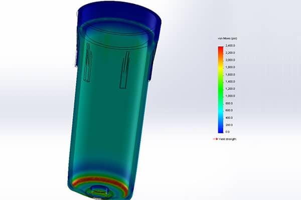 Model water filter failure problem