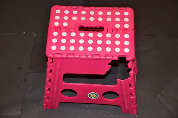 Plastic stool failure problem
